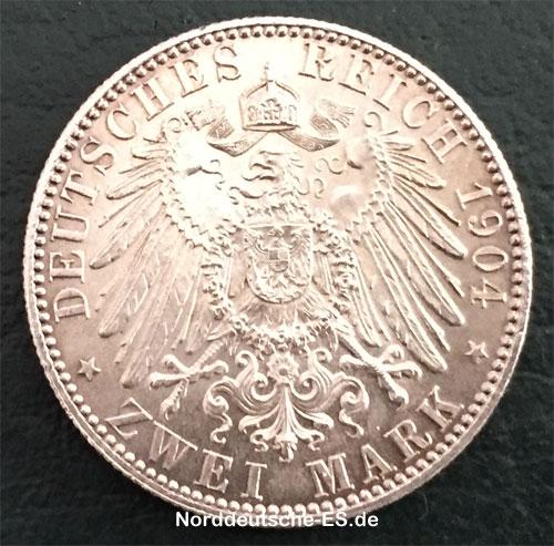 Silbermuenze-2-Mark-Georg-Friedrich-von-Sachsen