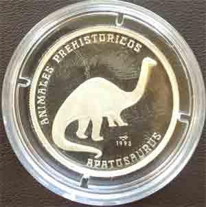 Republica de CUBA 5 Pesos Feinsilber 999