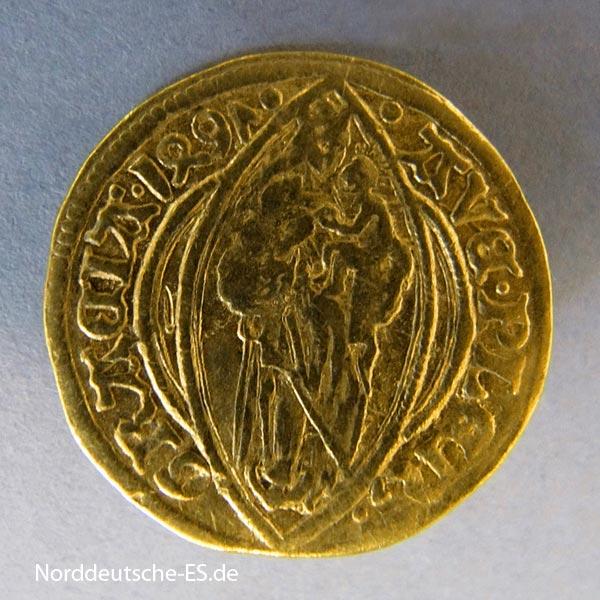 Hamburg Stadt 1497 Altdeutschland Gold