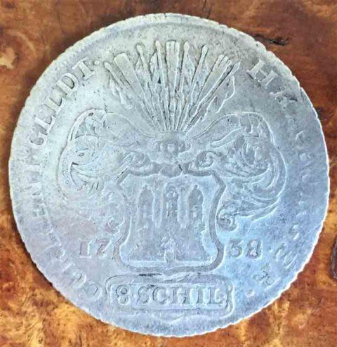 Hamburger-Current-8-Schilling-1738
