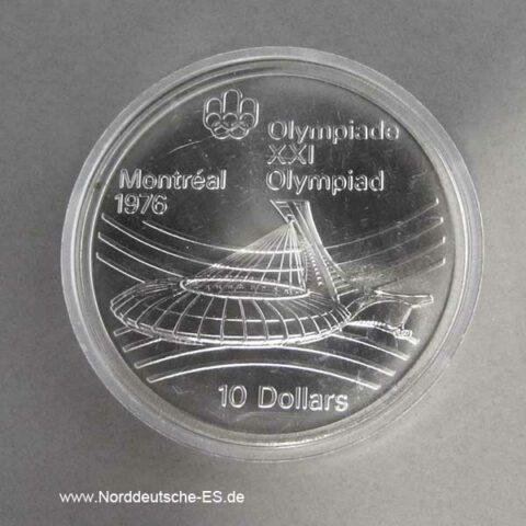 Kanada 10 Dollars 1976 Montreal