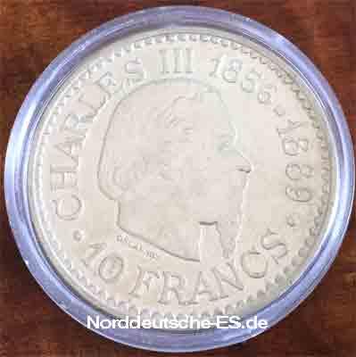 MONACO-10-FRANCS-1966-PRINCE-CHARLES-III---RAINIER-III