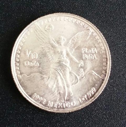 Mexiko Libertad 1_10oz Feinsilber 999