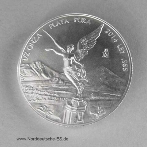Mexiko Libertad 1_2 oz Silbermünze