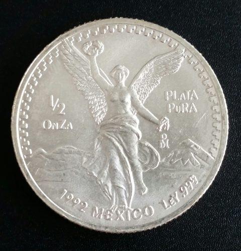 Mexiko Libertad 1_2oz Feinsilber 999