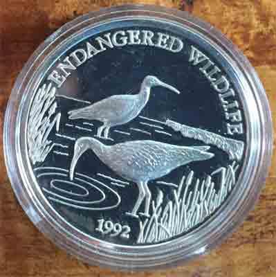 Samoa-i-Sisifo-Borstenbrachvogel-10-Dollars-Silber1992