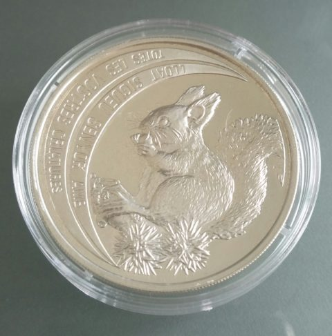 Andorra Squirrel 1992 Sterlingsilber 925