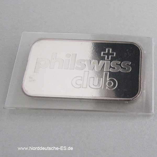 Silberbarren 1 oz Diverse Hersteller