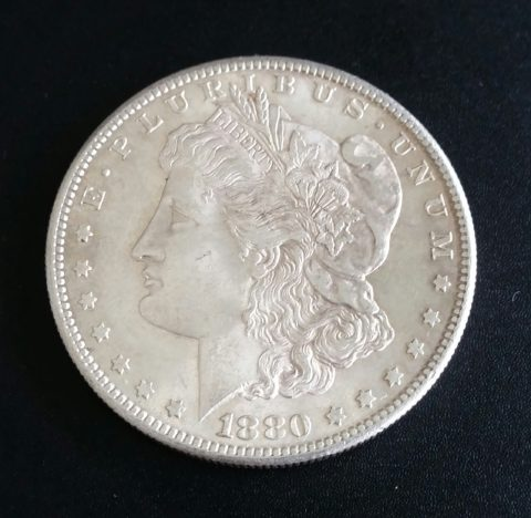 USA Liberty One Dollar 1880 Morgan Dollar