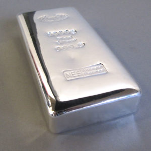 Silberbarren Norddeutsche ES 1000g 1 Kg 9999 Anlagebarren