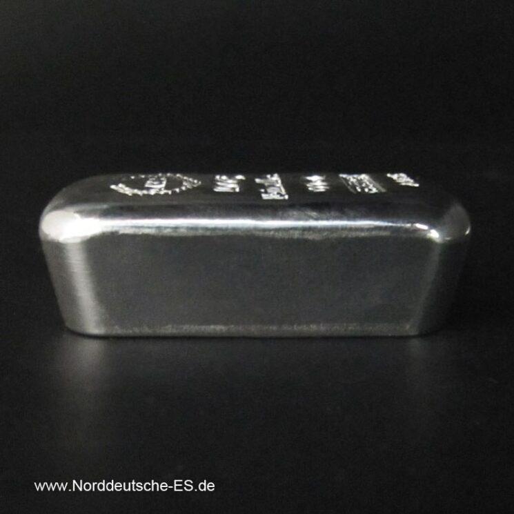 100g Silberbarren 9999 Norddeutsche
