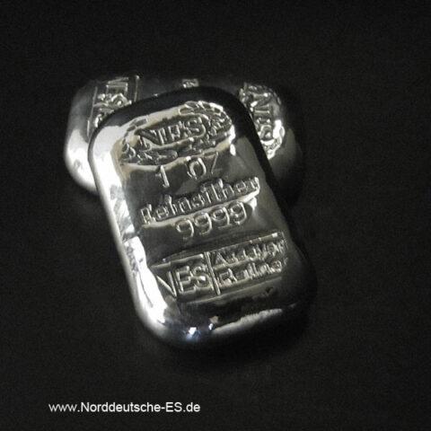 Norddeutsche ES 1 Unze Feinsilber 999,9