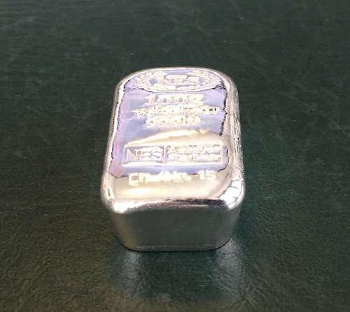Silberbarren 100g Feinsilber 999.9 Norddeutsche ES