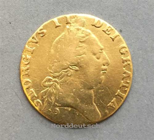 England 1 Guinea 1788 Georg III Goldmünze