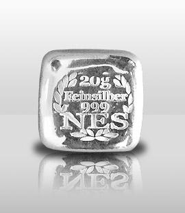 Norddeutsche-Silberbarren-20g-Feinsilber 9999