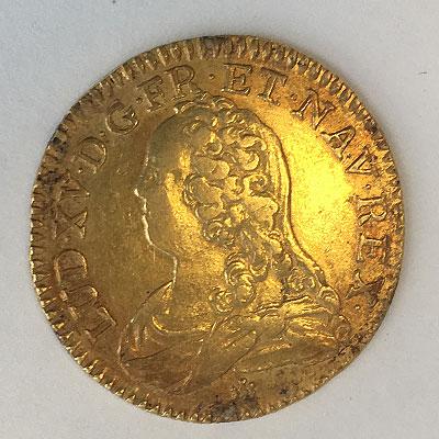 Frankreich 1/2Louis d'Or 1715-1774 Ludwig XV