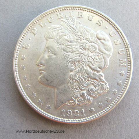 1 Dollar 1921 USA Morgan Dollar