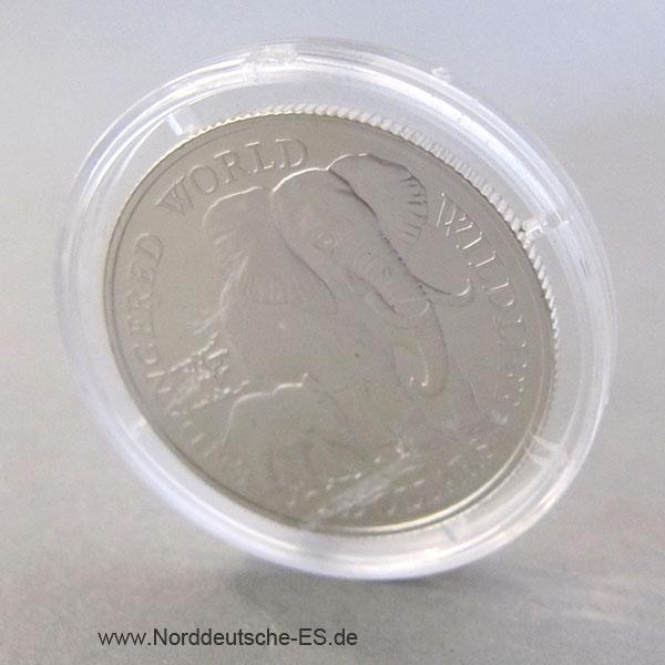 Cook Islands 10 Dollars Silber 1990 Endangered Wildlife Serie