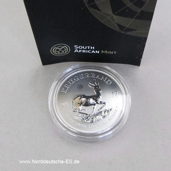 Suid Afrika 1OZ Silber 50 Jahre Kruegerrand 2017 Jubilaeumsausgabe.jpg