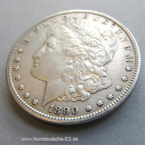 USA Morgan Silber Dollar 1890 Silver Dollar