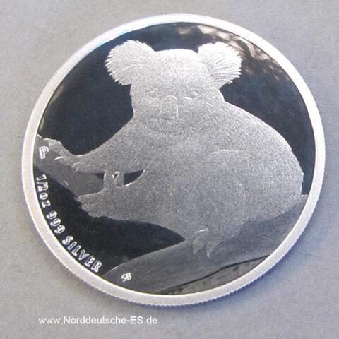 Australien 1/2 oz Koala Silber 2009