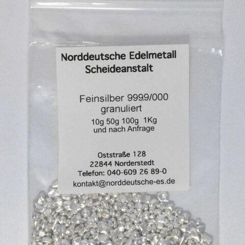 Silber Granalien