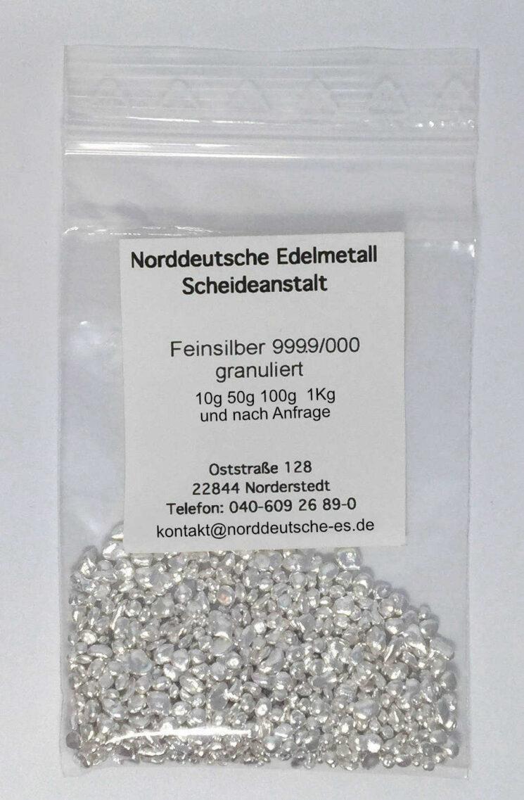 Feinsilber-Granulate-999.9