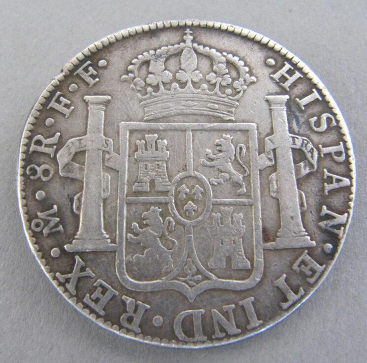 Mexiko 8 Reales 1783 Carolus III Silbermünze