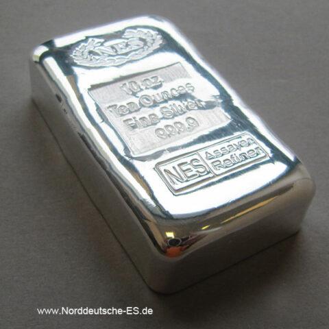 Mittlere Silberbarren 155,5 - 500 Gramm