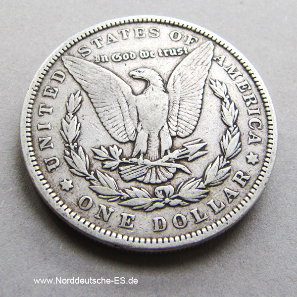USA Morgan Dollar 1896