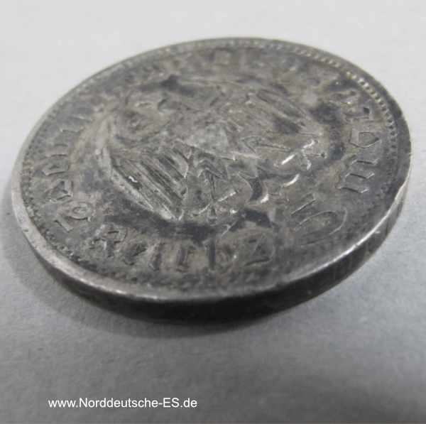 Deutsches Reich 5 Reichsmark Hindenburg