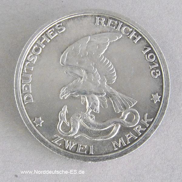 2 mark deutsches reich 1913