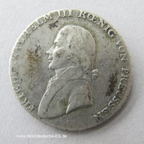 Ein Taler 1803 Friedrich Wilhelm III Preussen 1803 A