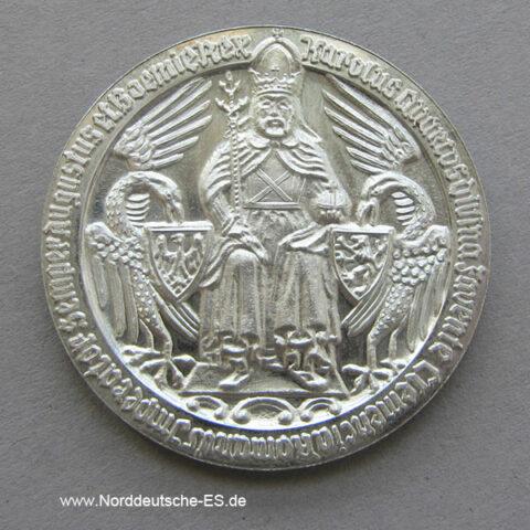 Silber 600 Jahre stadt Krefeld