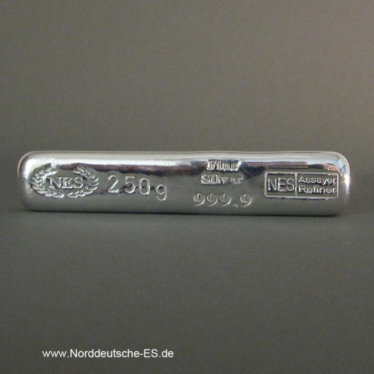 250g-Silberbarren-9999-Norddeutsche-ES
