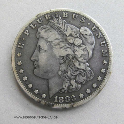USA 1883 Morgan Silver Dollar