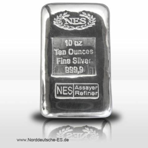 Feinsilberbarren 999.9 der NES
