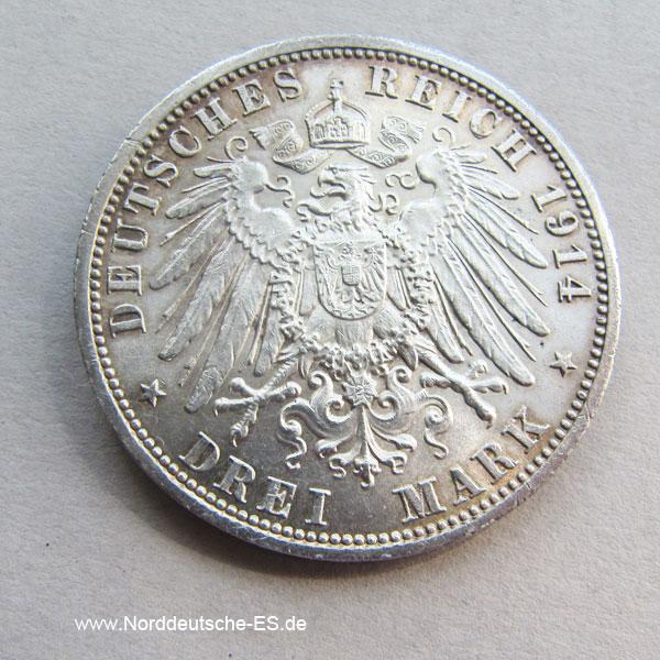3 Mark Friedrich II Marie Herzog Herzogin von Anhalt 1889-1914