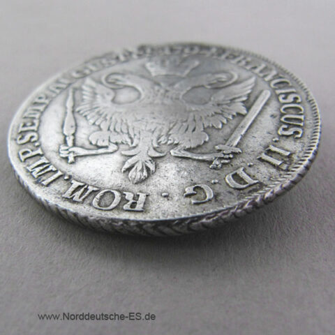 Hamburg Stadt 32 Schilling 1794 OHK Silber Franciscus II
