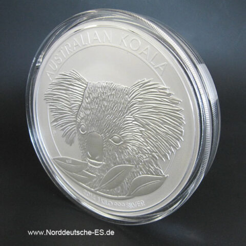 Australien 1 Kilo Silber Koala 2014