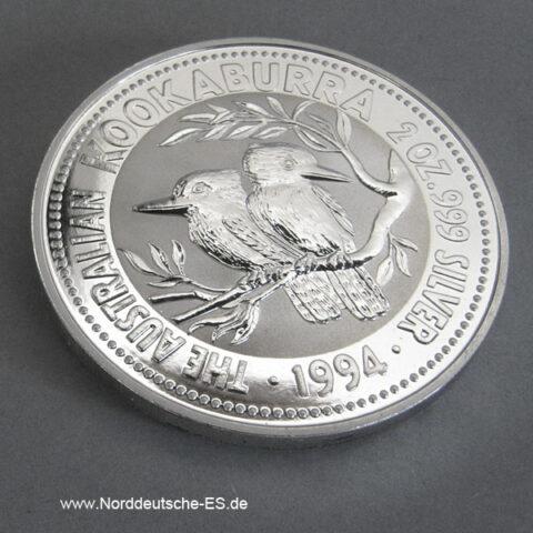 Silbermünzen 2 oz