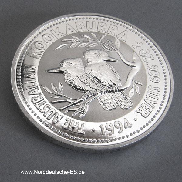 Australien 2 Dollars 1994 Australien 2 oz Kookaburra