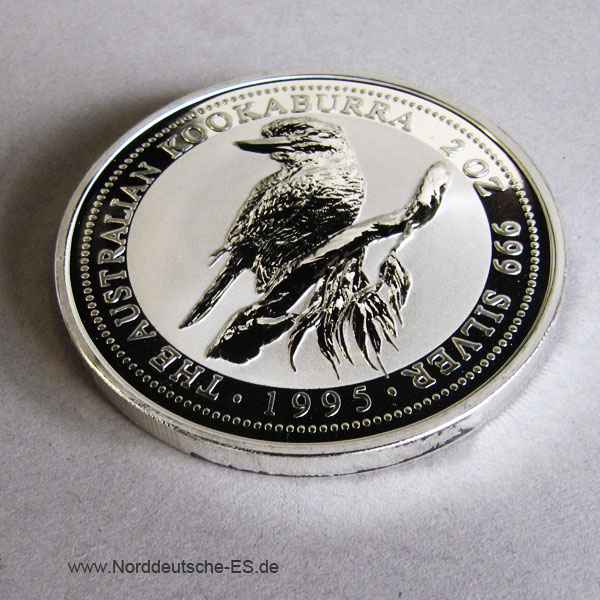 Australien 2 Dollars 1995 Australien 2 oz Kookaburra