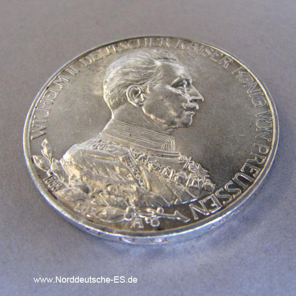 Deutsches Reich 3 Mark Wilhelm II Preussen 1913 A