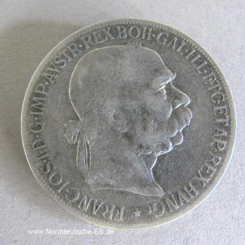 Österreich 5 Kronen 1900-1907 Franz Joseph I Doppelmonarchie