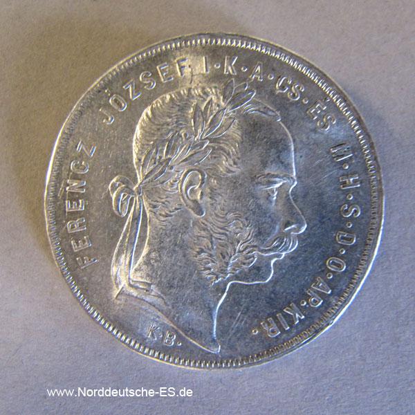 Ungarn-Österreich 1 Forint 1879 Franz-Josef I