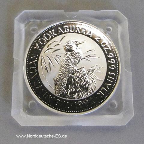 Australien 2 Dollars 1992 Australien 2 oz Kookaburra