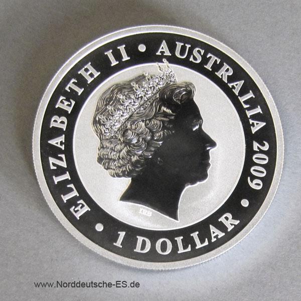 Australien 1 oz Koala Silbermünze 1 Dollar