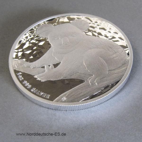 Australien 1 oz Koala Silbermünze 2009