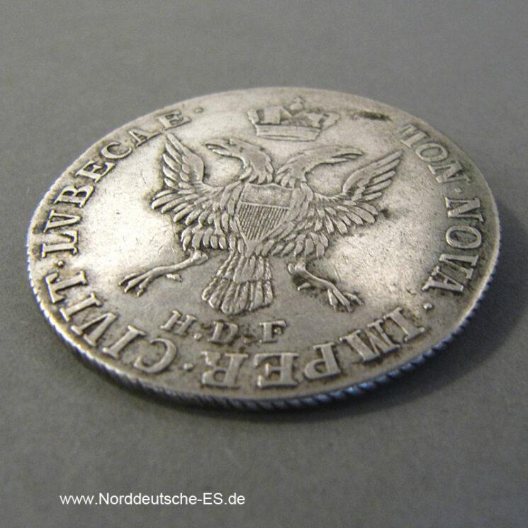 Lübeck Stadt 32 Schilling 1797 Silber Doppeladler HDF